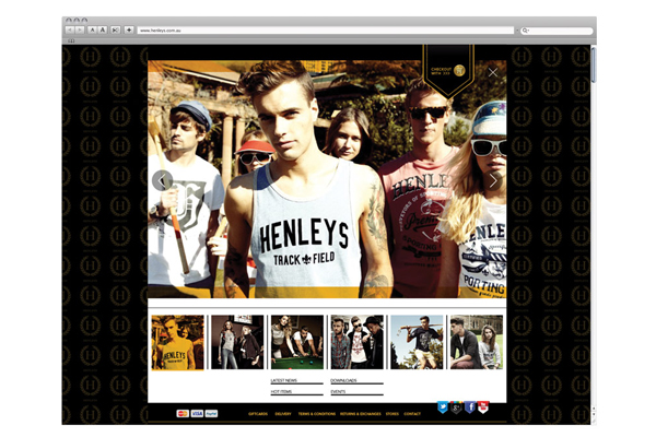 henleys website design CSS3