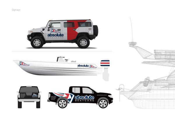 vehicle graphics marine boat company designs