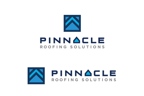 roofing company logo design