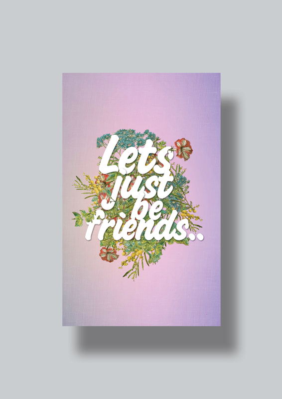 break up card design