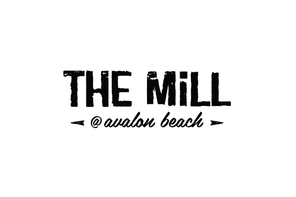 the mill bar logo design