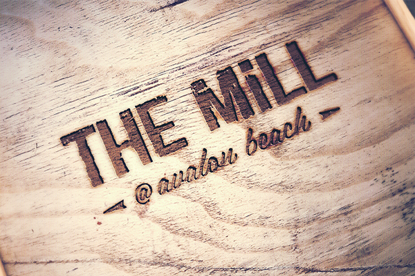 the mill bar logo