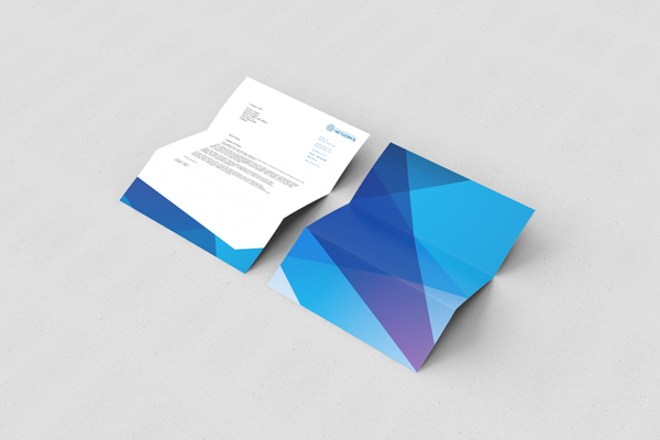 IT company stationary designs