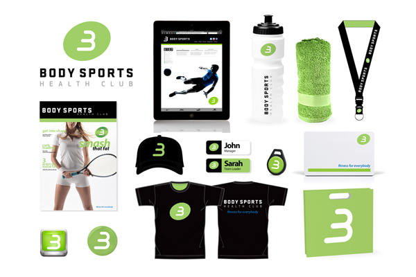 gym collateral designs