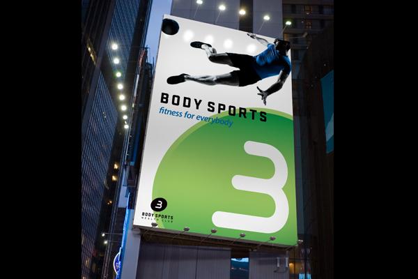 local fitness club advertising billboard designs club