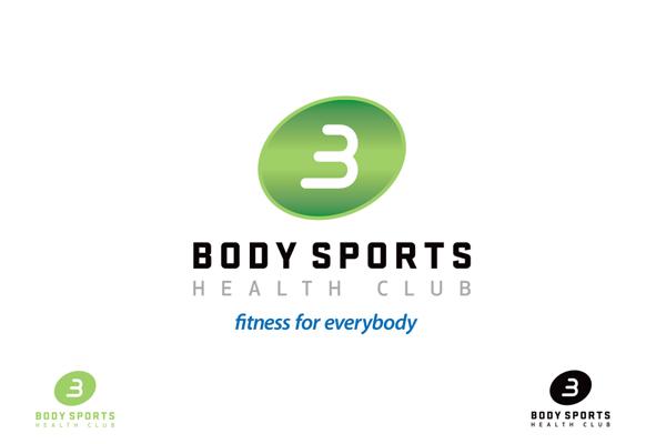 gym branding identity design