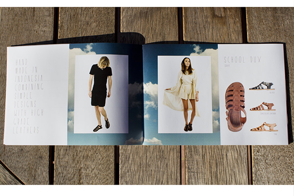 look book layout design