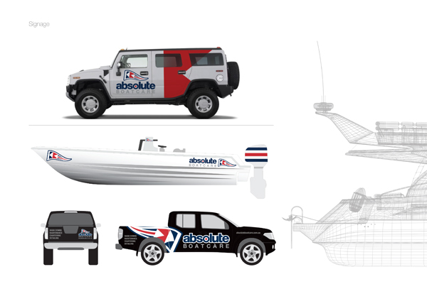 vehicle graphics marine boat company