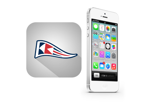 IOS7 app icon design long shadow