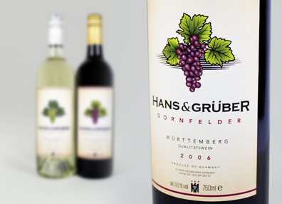 german wine label designs