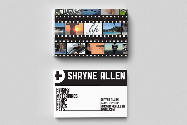shayne allen business card