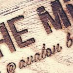 the mill bar logo design
