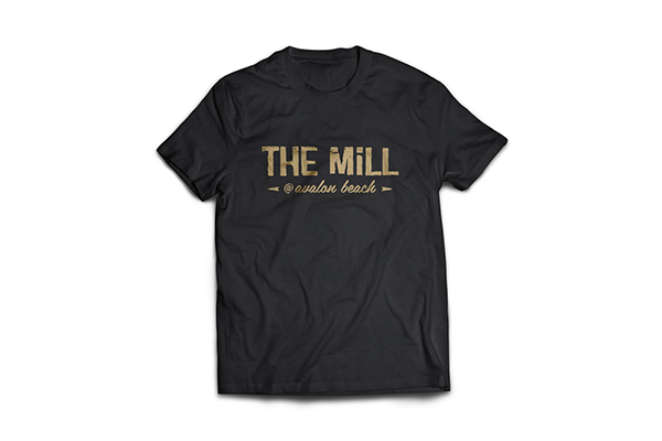 the mill logo design avalon